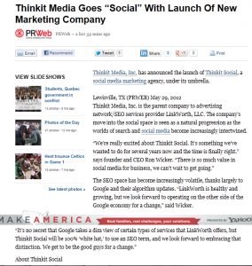 Google takes dim view of SEO firm's link-building methods.