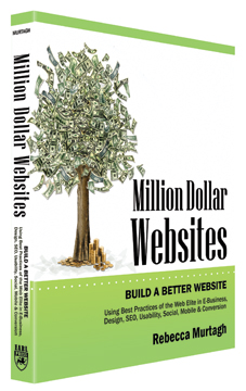 Get Million Dollar Websites by our CEO Rebecca Murtagh